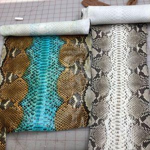 Handbags - Exotic snake skins for custom use